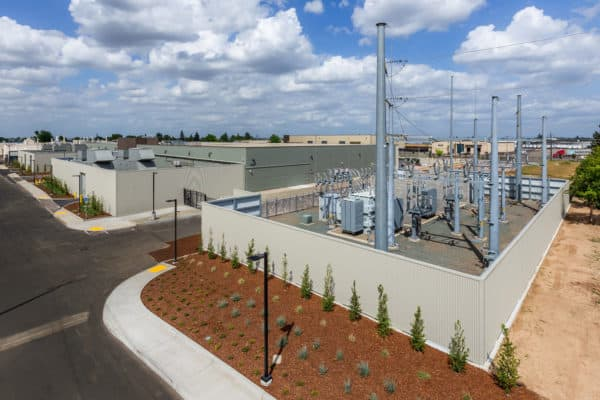 Sacramento Data Center - Substation