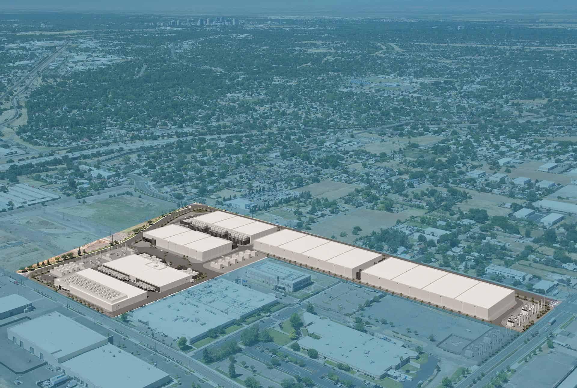 Sacramento Data Center- aerial