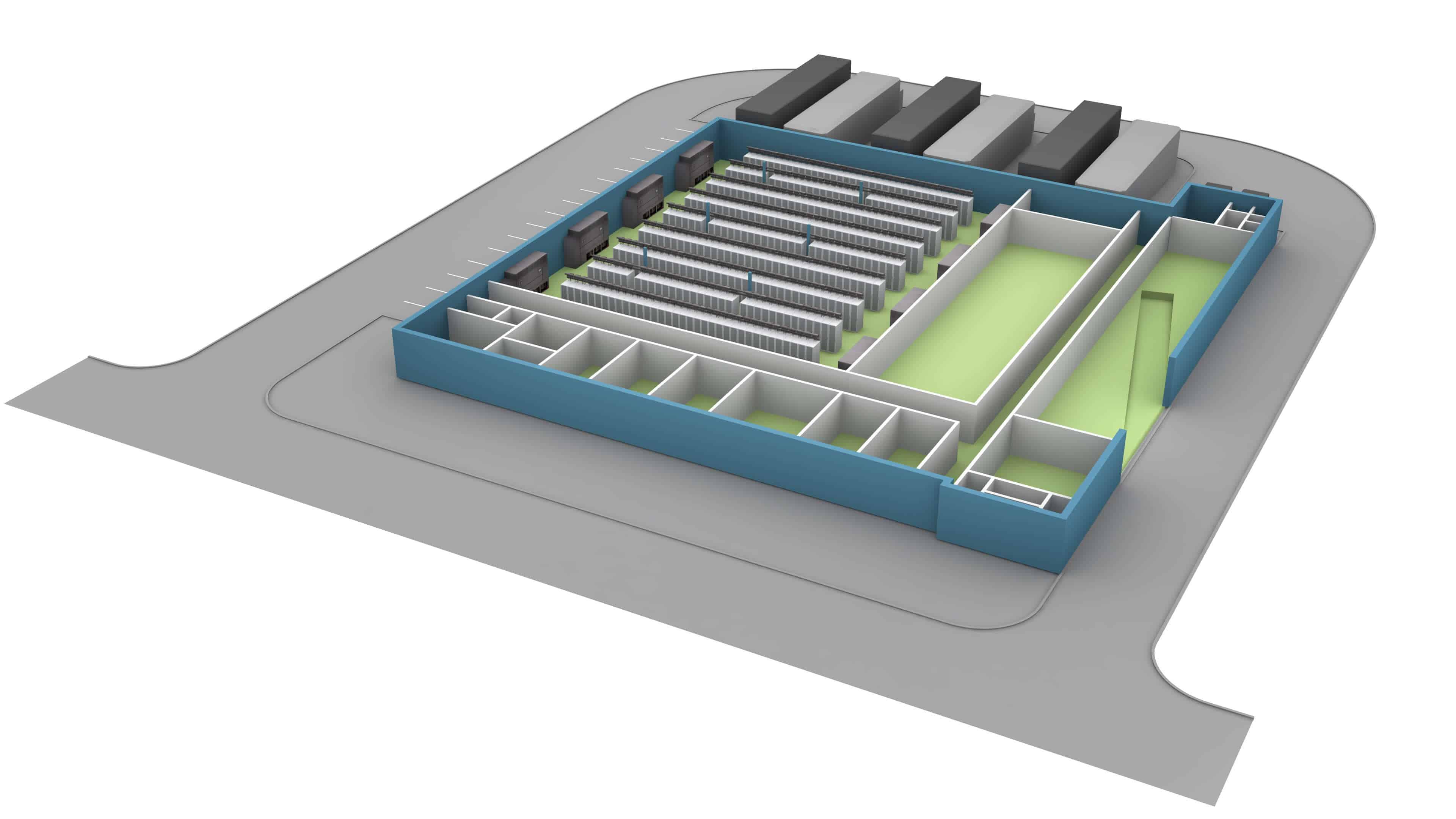 1111 Comstock - San Jose - first floor floorplate