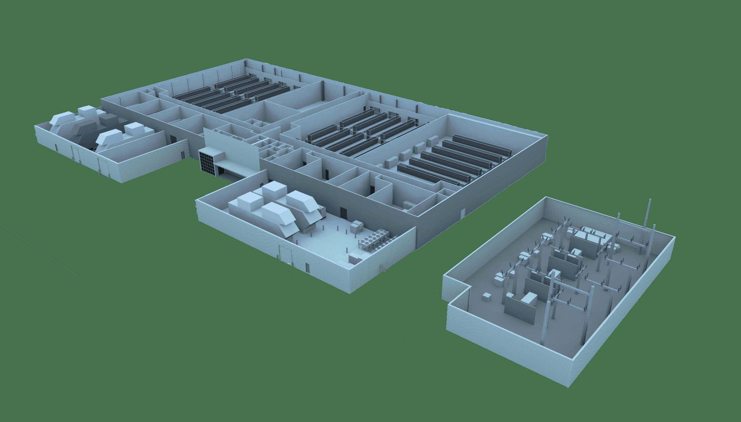 Prime Sacramento Data Center - Floorplate
