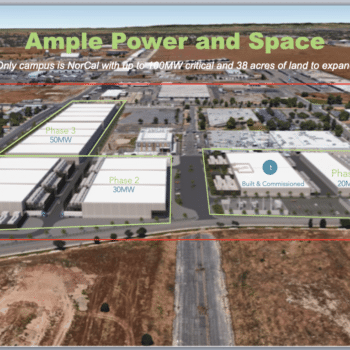 Prime Data Centers Announces 8MW Data Center at McClellan Park, Sacramento