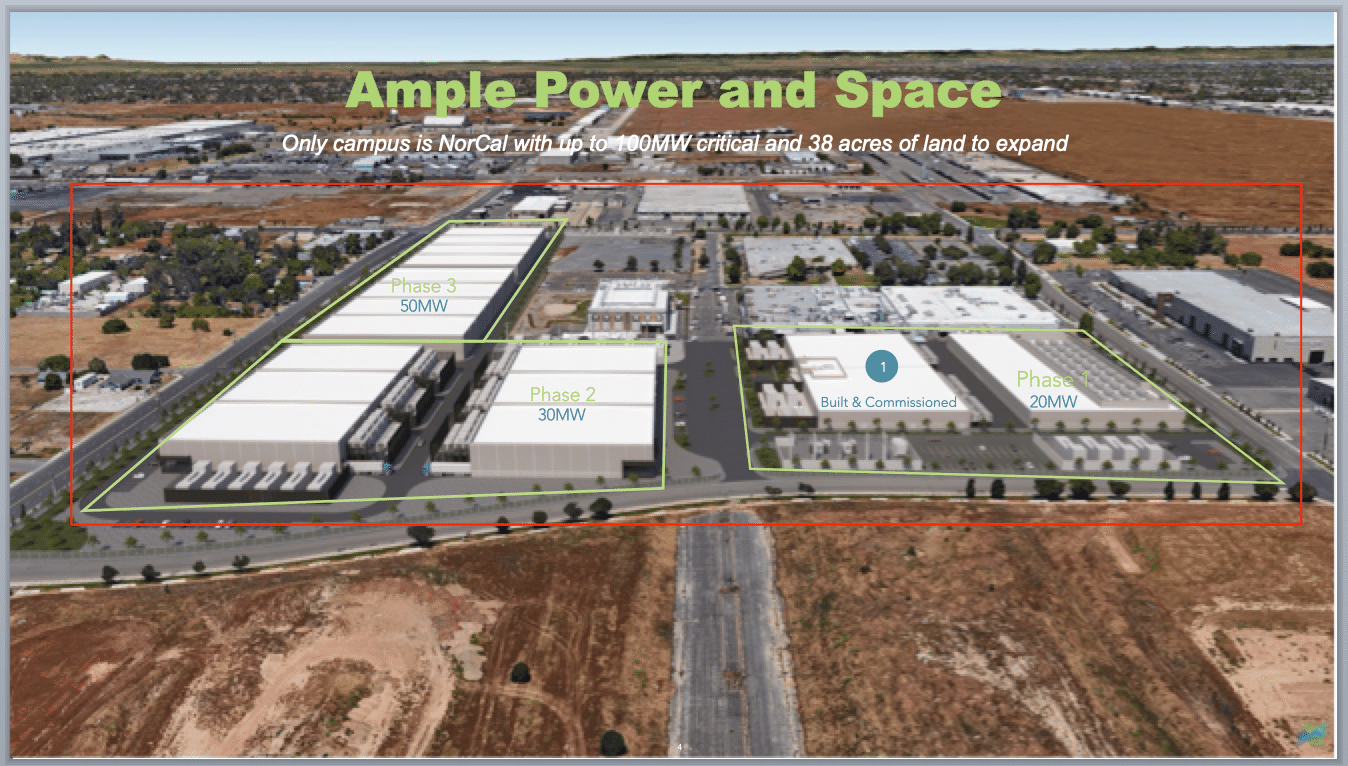 sacramento hyperscale data center