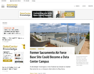 Data Center Knowledge covers Prime Data Centers Sacramento Campus