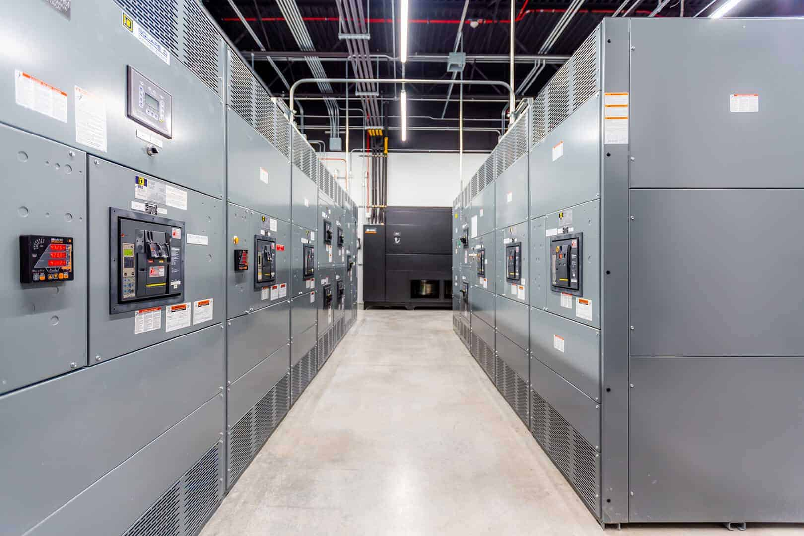 data center electrical room