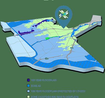 greater Sacramento flood plain map
