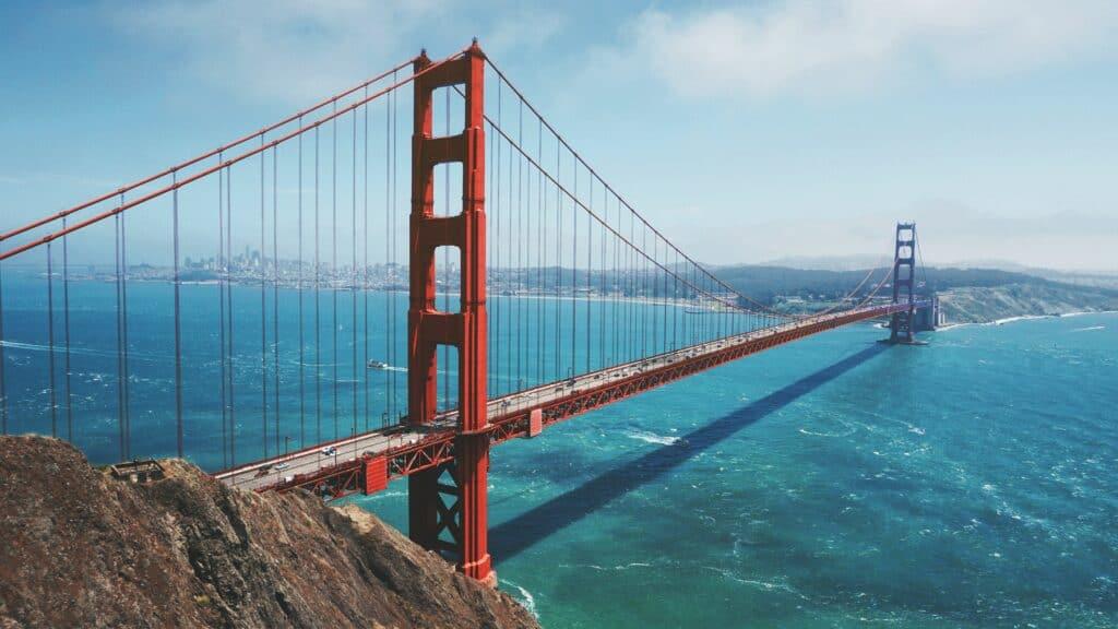 Golden Gate Bridge in daytime